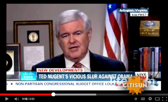 Newt Gingrich skewers Wolf Blitzer on media bias