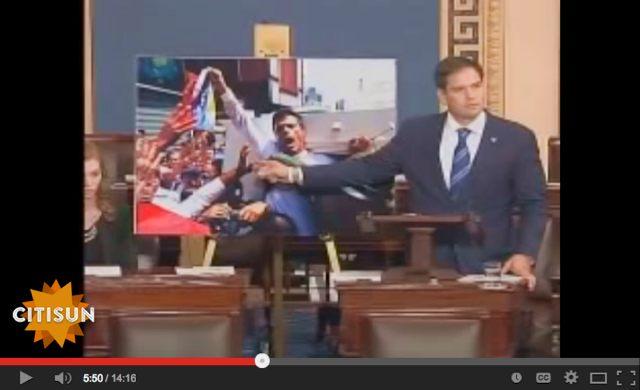 Senator Rubin takes on Sen Tom Harkin regarding Cuba and Venezuela being a