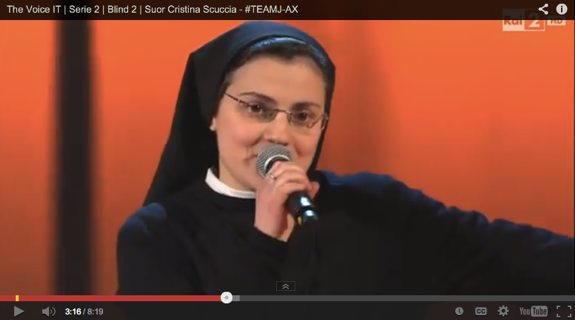 Nun stuns all four judges on The Voice