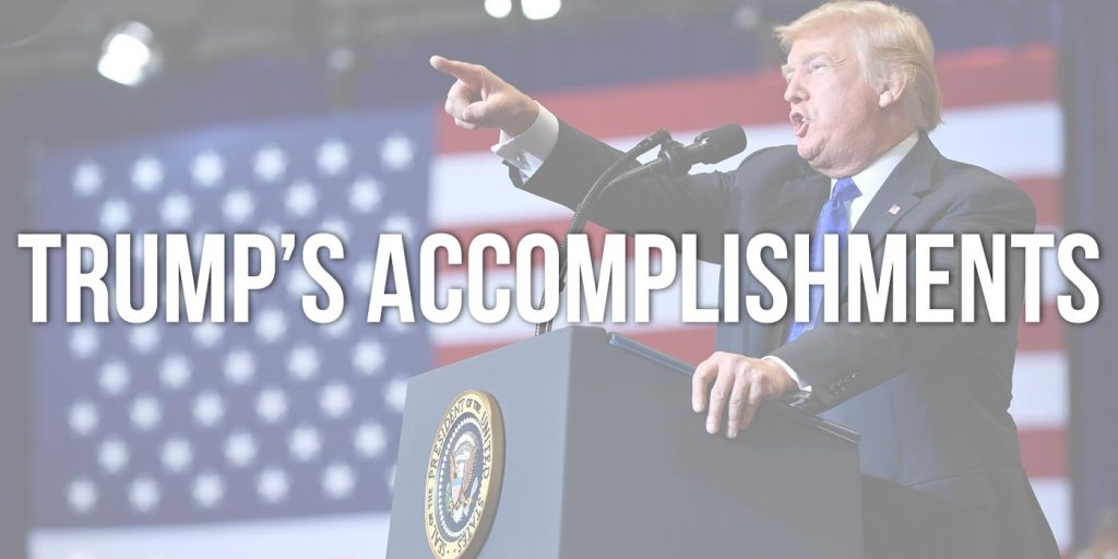 Donald Trump's Accomplishments Through 2019
