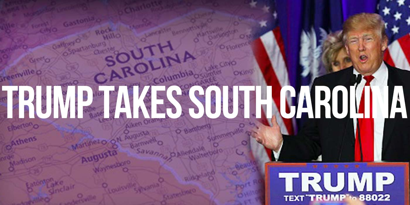Donald Trump Takes South Carolina