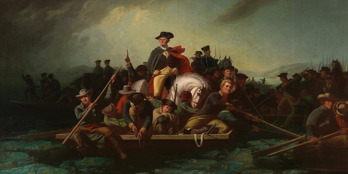 Washington Crossing the Delaware, by George Caleb Bingham