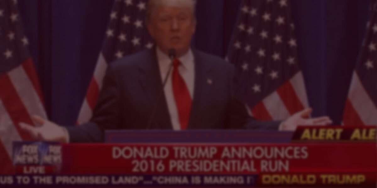 Trump Announcement of Presidency 2016